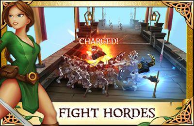 Kampfspiele: Lade Arcane Legenden auf dein Handy herunter