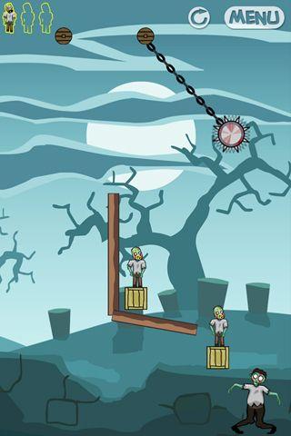 Скріншот Zombie zone на iPhone