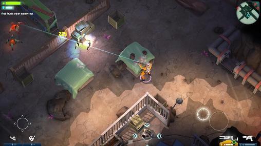 Space marshals captura de pantalla 1