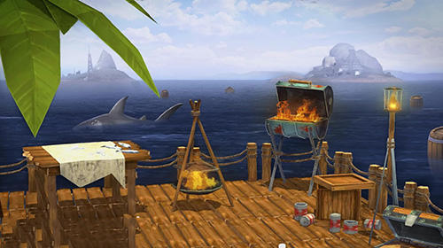 Raft survival in the ocean simulator screenshot 3