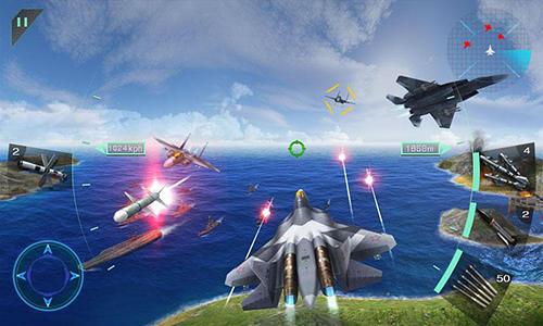 Flugzeuge Sky fighters 3D auf Deutsch