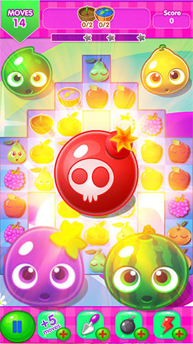 d'arcade Jewel fruit mania pour smartphone