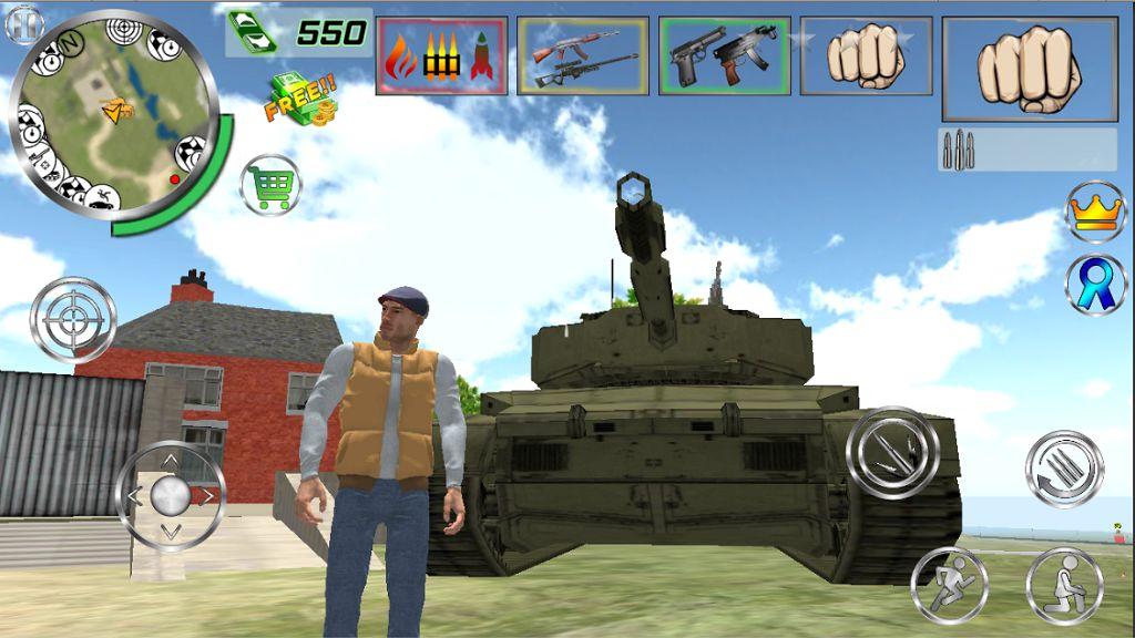 Real Gangster Simulator Grand City скриншот 1