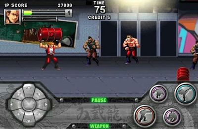 Screenshot Double Dragon on iPhone