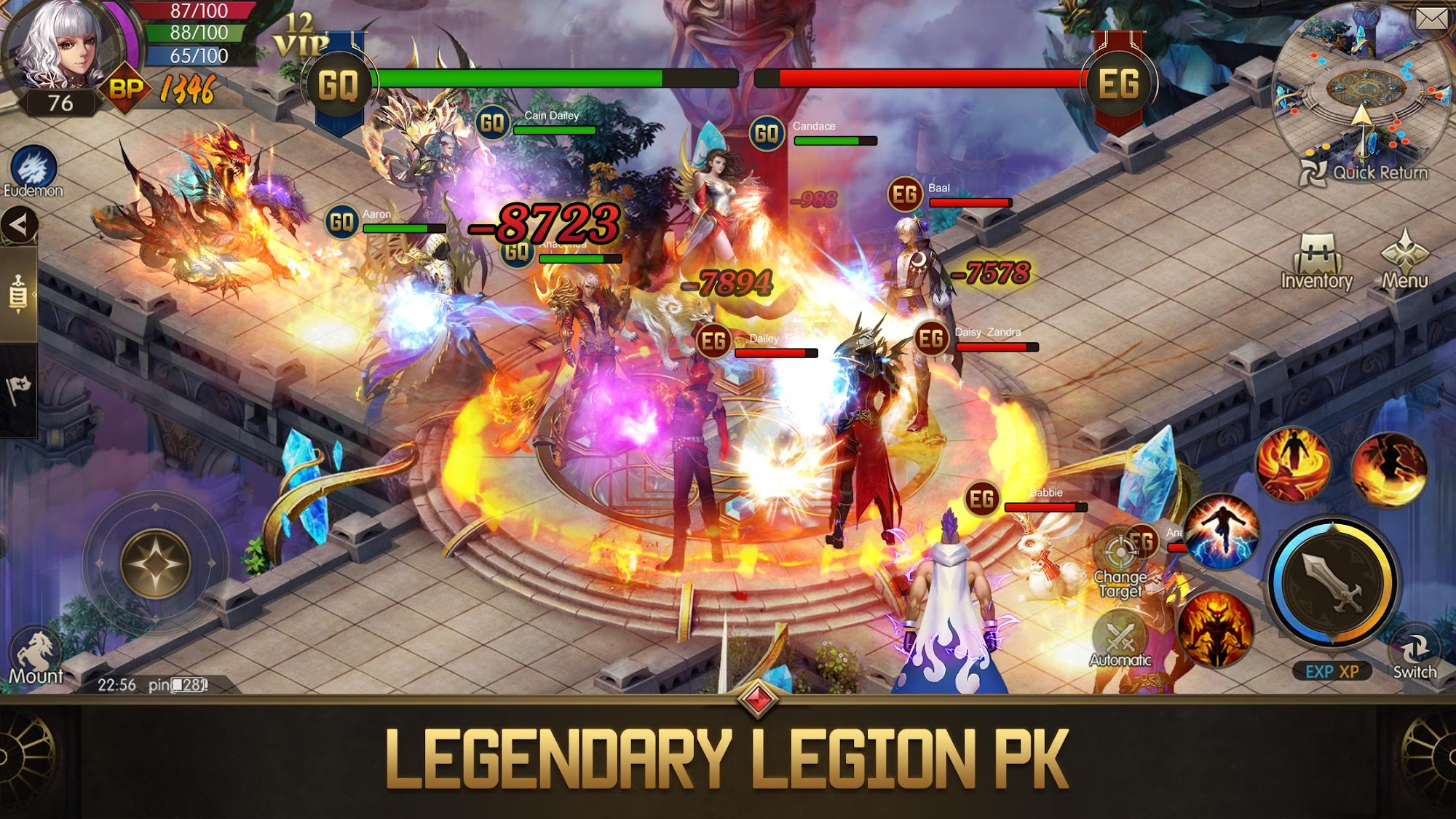 Eudemons M: Fantasy of Legends capture d'écran 1