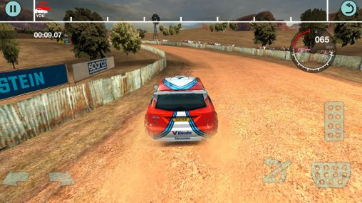 Racing games Colin McRae rally for smartphone
