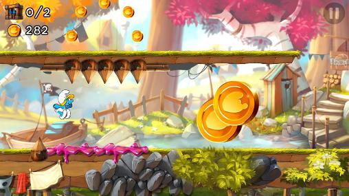 The smurfs: Epic run for Android