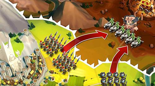 Warlords of Aternum captura de pantalla 1
