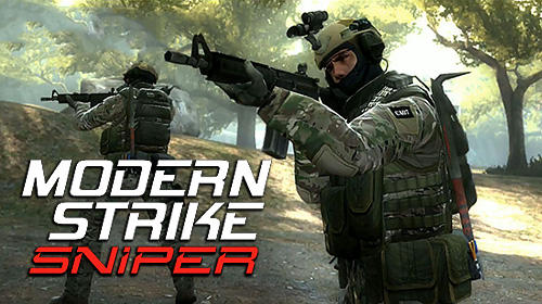 Иконка Modern strike sniper 3D