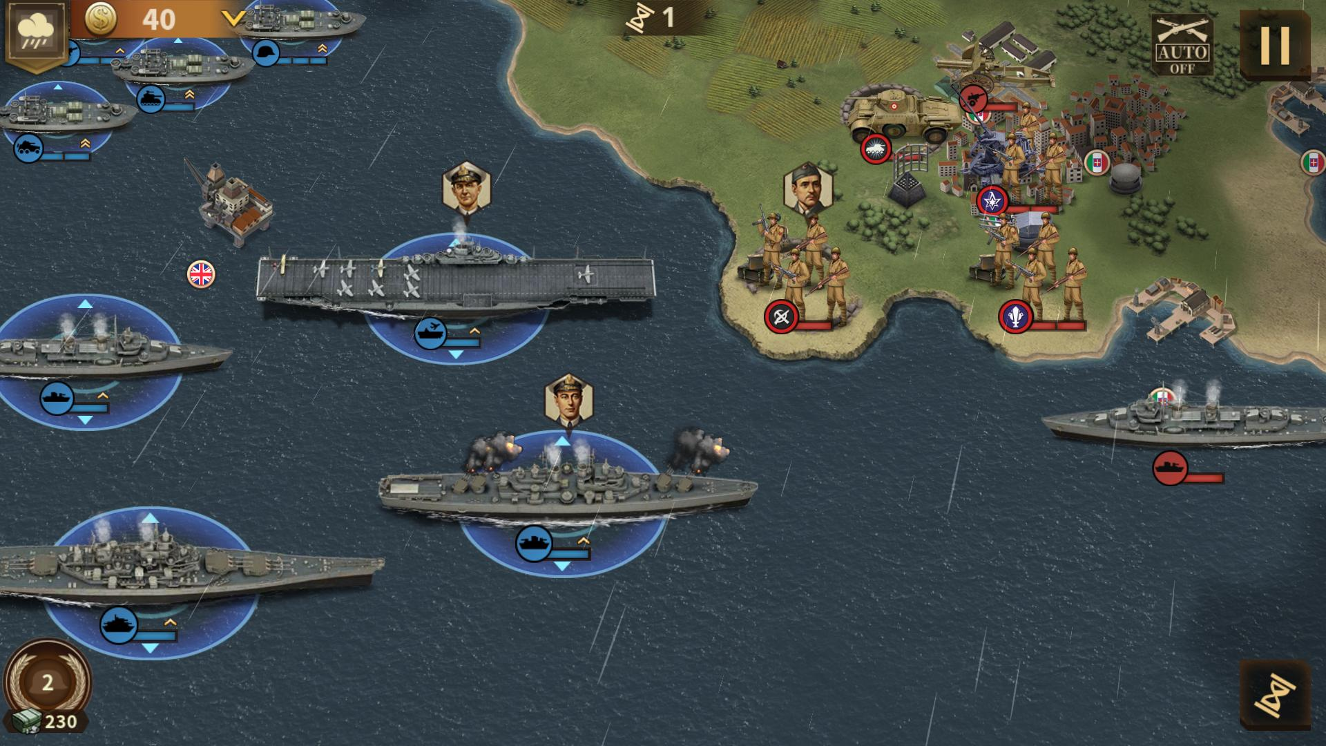 Android用 Glory of Generals 3 - WW2 Strategy Game