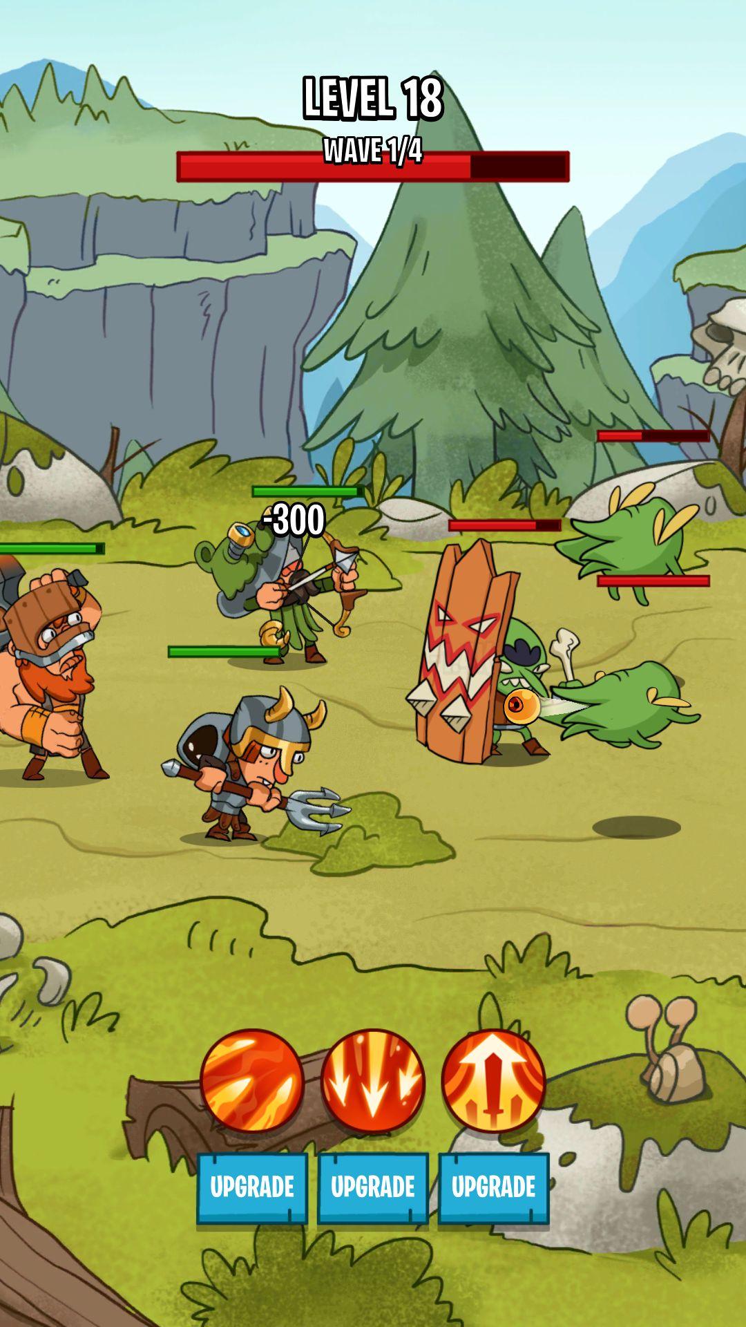 Semi Heroes 2: Endless Battle RPG Offline Game скріншот 1