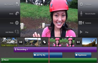 Simulation games: download iMovie to your phone