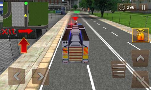 Firefighter 3D: The city hero for Android