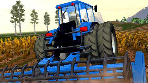 Simulation Farmer's tractor farming simulator 2018 für das Smartphone