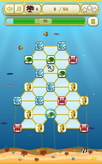 d'arcade Sea deeps: Match 3 pour smartphone