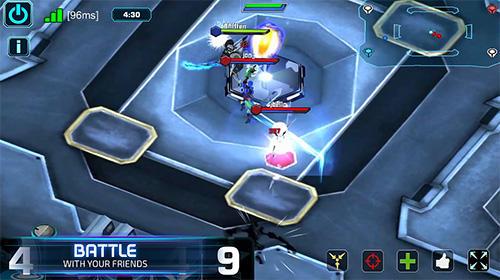 Spiele mit Robotern Fhacktions: Real world, team PvP conquest battles auf Deutsch