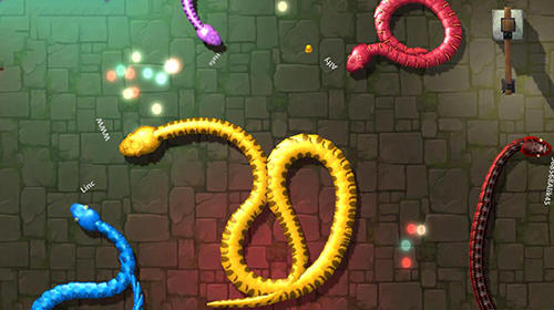 3D snake.io screenshot 1
