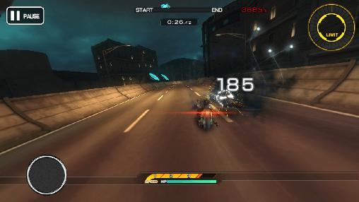 Rennspiele Final fantasy 7: G-bike für das Smartphone