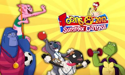 Toons Summer Games 2012 captura de pantalla 1