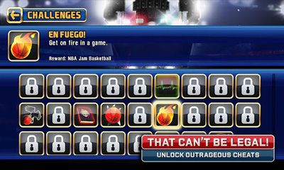 Multijugador (Bluetooth) NBA JAM para teléfono inteligente