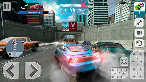 Real car driving experience: Racing game auf Deutsch