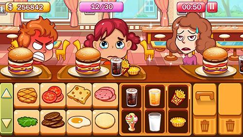Burger tycoon für Android