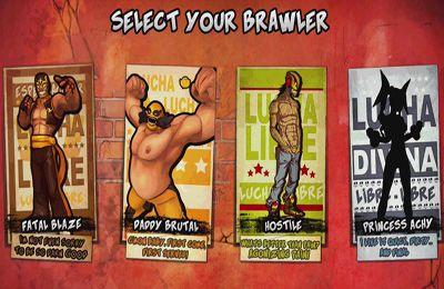 Kampfspiele: Lade Strassen-Wrestler auf dein Handy herunter