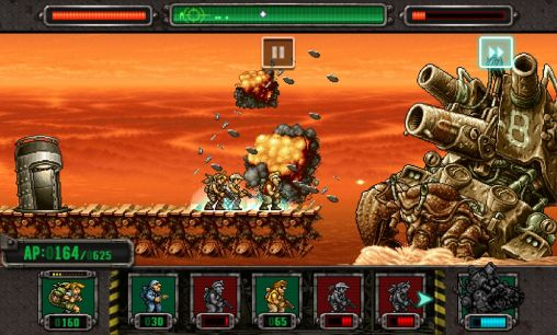 Metal slug defense для Android