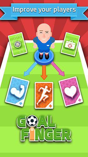 Спортивные игры Goal finger на русском языке