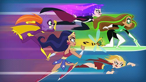 DC chicas superhéroes blitz en español