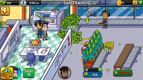 Weed inc pour Android