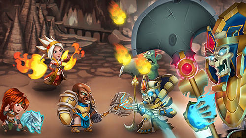 Brave soul heroes: Idle fantasy RPG für Android