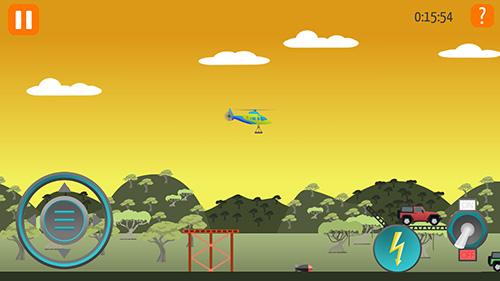 Arcade-Spiele Go helicopter für das Smartphone