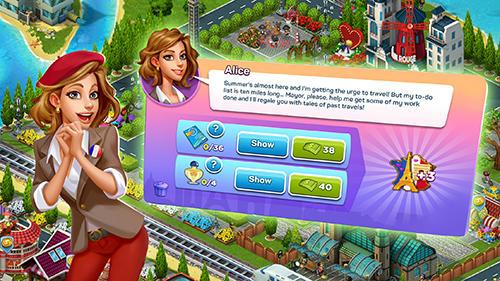 Strategie Supercity: Building game für das Smartphone