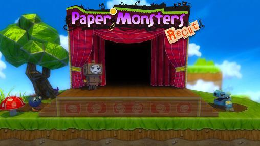Paper monsters: Recut screenshot 1