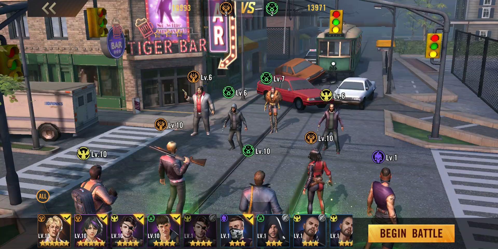 Crime Kings: mafia city pour Android