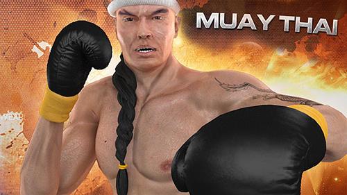 Muay thai: Fighting clash Screenshot