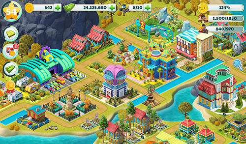 Town city: Village building sim paradise game 4 U screenshot 2