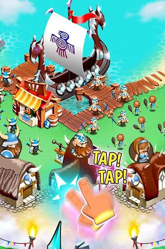 Viking heroes war para Android