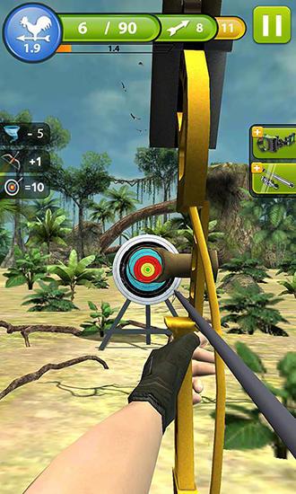 Sportspiele Archery master 3D für das Smartphone