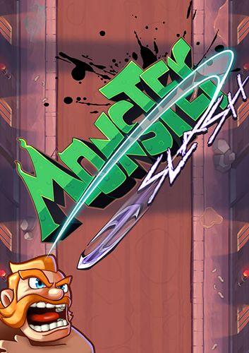 Monster slash icono