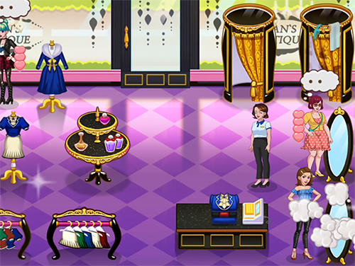 Management games Jean's boutique 3 in English