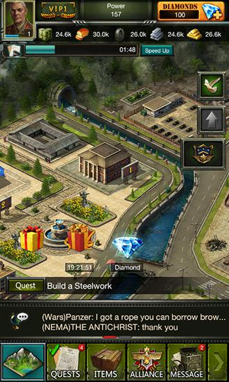 Clash of commanders: Iron tides for Android
