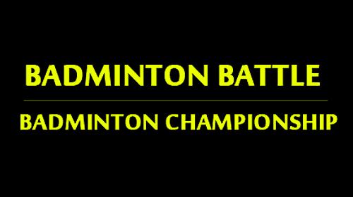 Badminton battle: Badminton championship captura de tela 1