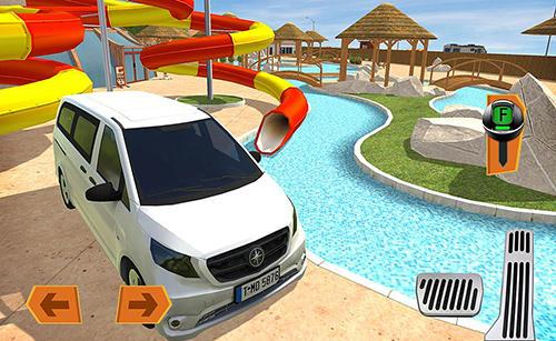 Camper van truck simulator Screenshot