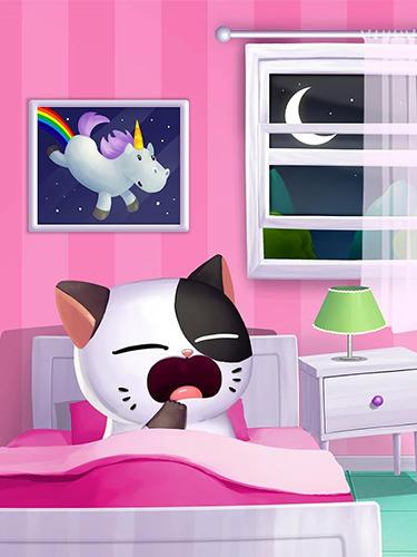 My cat Mimitos 2: Virtual pet with minigames screenshot 1