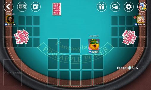 Juegos de póquer DH: Pineapple poker en español