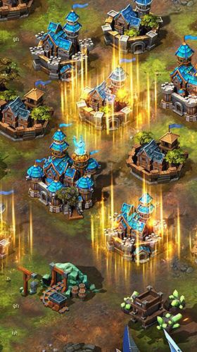 Online Glory of thrones: War of conquest für das Smartphone