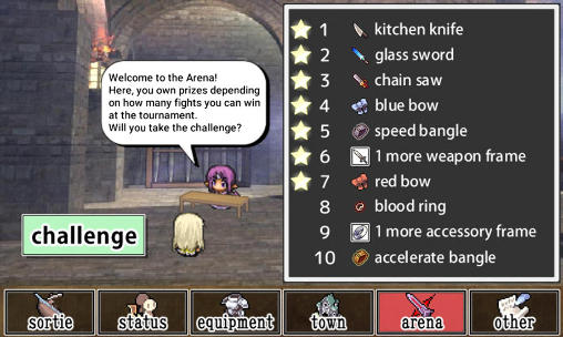 Weapons throwing RPG für Android