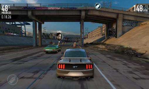 Straßenrennen-Spiele Fast and furious: Legacy auf Deutsch